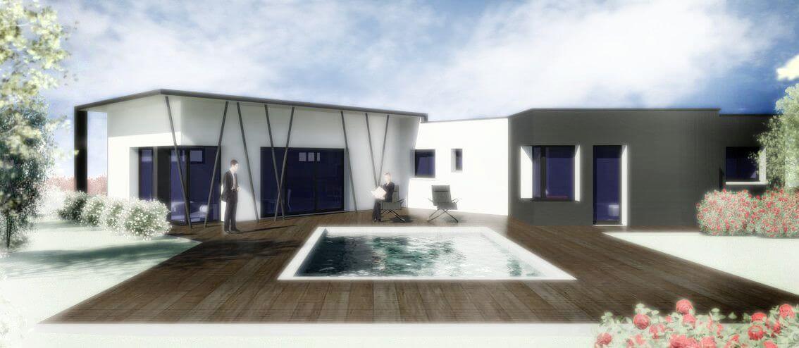 villa3design maitre d 39 oeuvre conception 3d bureau d. Black Bedroom Furniture Sets. Home Design Ideas
